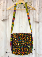 Fabric Swatch Crossbody Bag