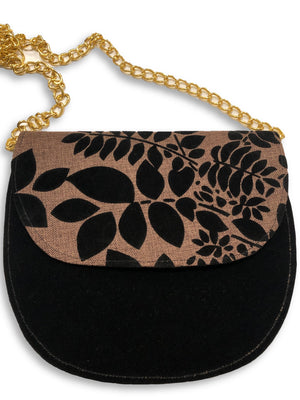 Small Crescent Bella Africa Bag