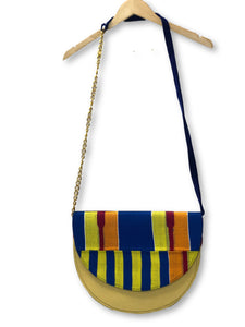 Colorful Crescent Bella Africa Bag