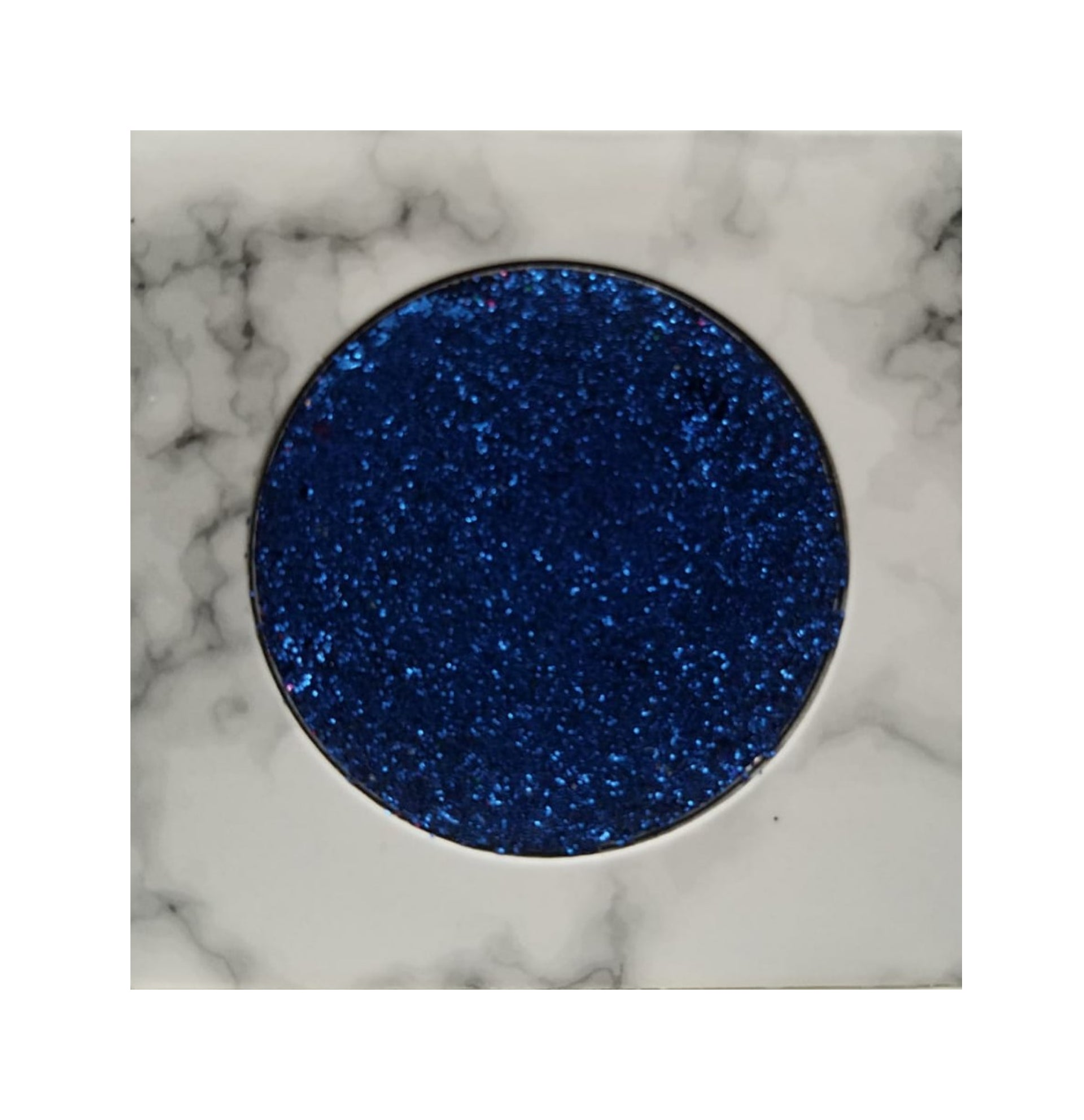Electric Blue Glitter Single Eyeshadow