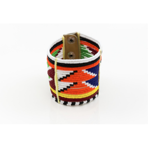 Kenyan Masai Beaded Cuff