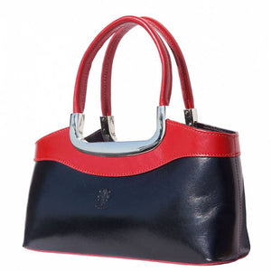 The Anna Shoulder Bag (Black / Red)