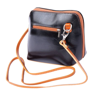 The AMMA JO Lauren Bag (Made in Italy) - Black Color
