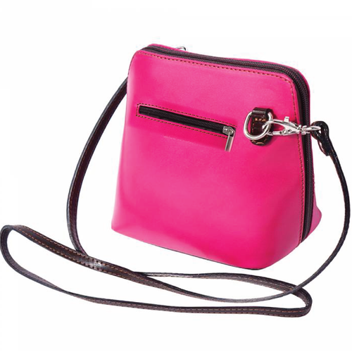 The AMMA JO Lauren Bag (Made in Italy) - Fuchsia Color