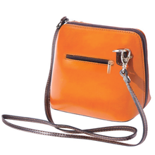 The AMMA JO Lauren Bag (Made in Italy) - Camel Color