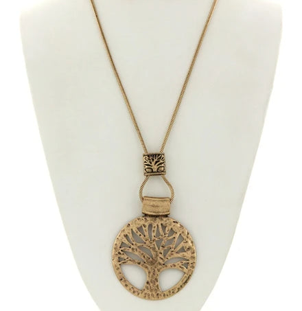 Tree of Life Pendant Necklace (Set 1)