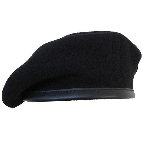 French Style Black Vintage Style Beret