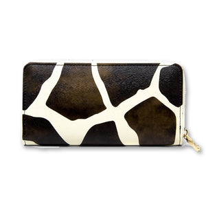 Fall Cow Print Wallet