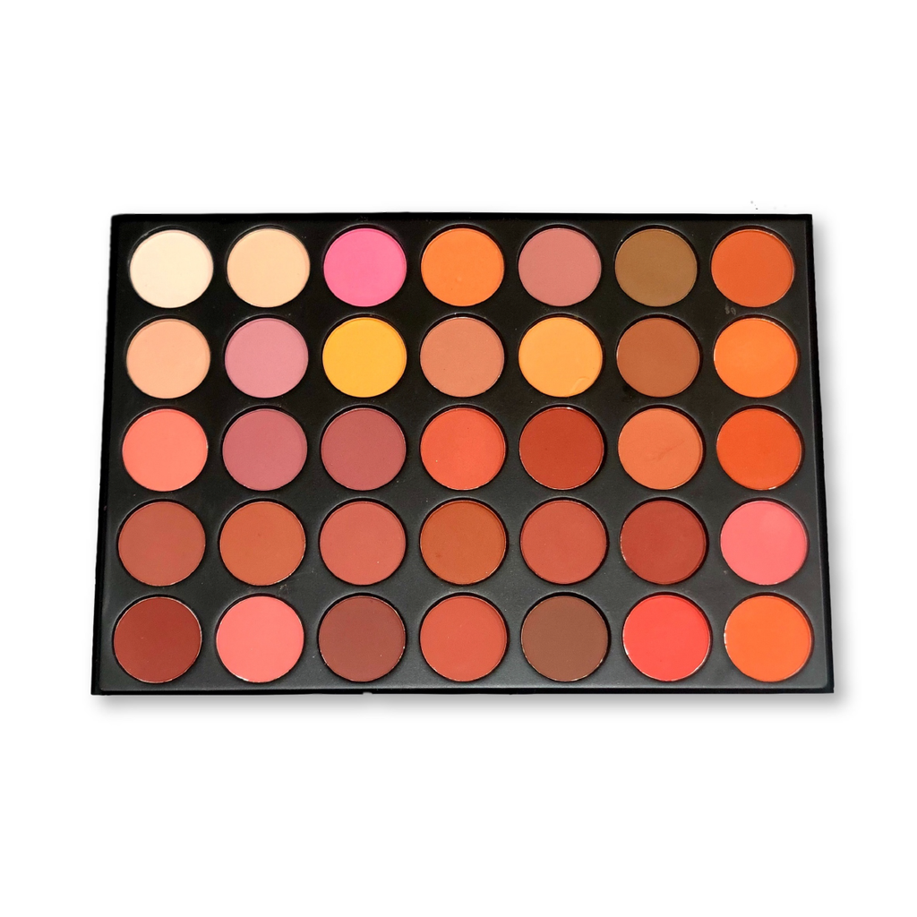 Warm Cinnamon AMMA JO Eyeshadow Palette