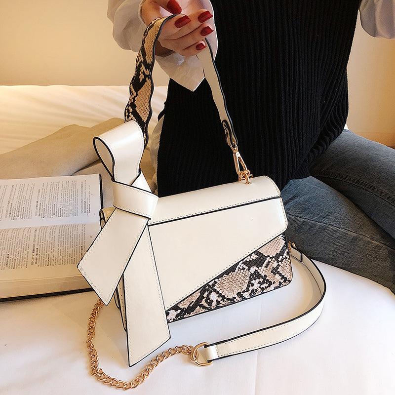 Ivory Bow Knot Bag