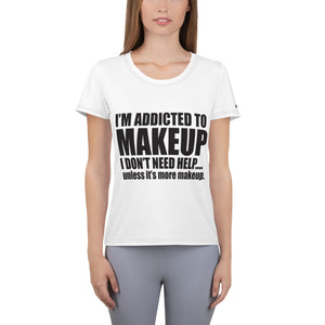 I'm Addicted to Makeup T-Shirt + Free Lip Gloss