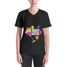 Makeup and Martini Women's V-neck
