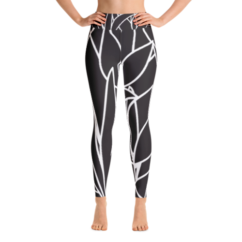 La Fleur Noire Leggings (Available Online Only)