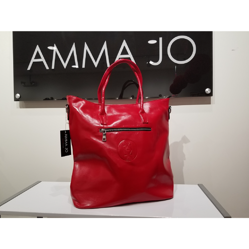Diva Red Bucket Tote