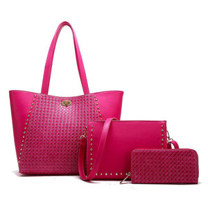 Hot Pink Handbag Set