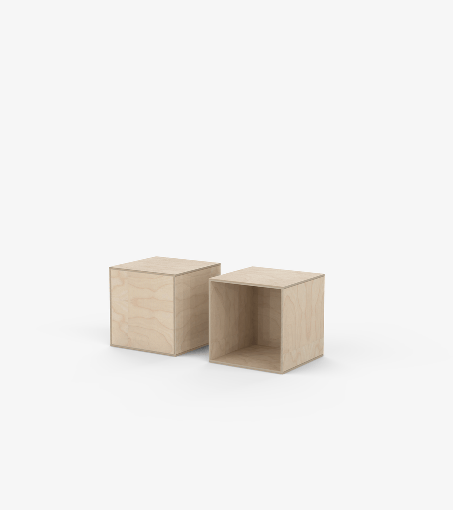 Plinths - Birch veneer by FoundPop