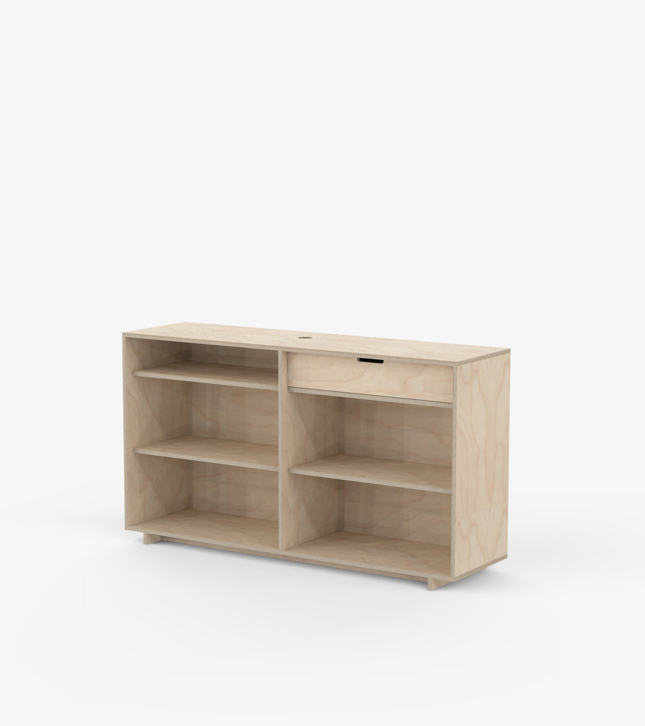 Cash Desk - Birch Veneer by FoundPop