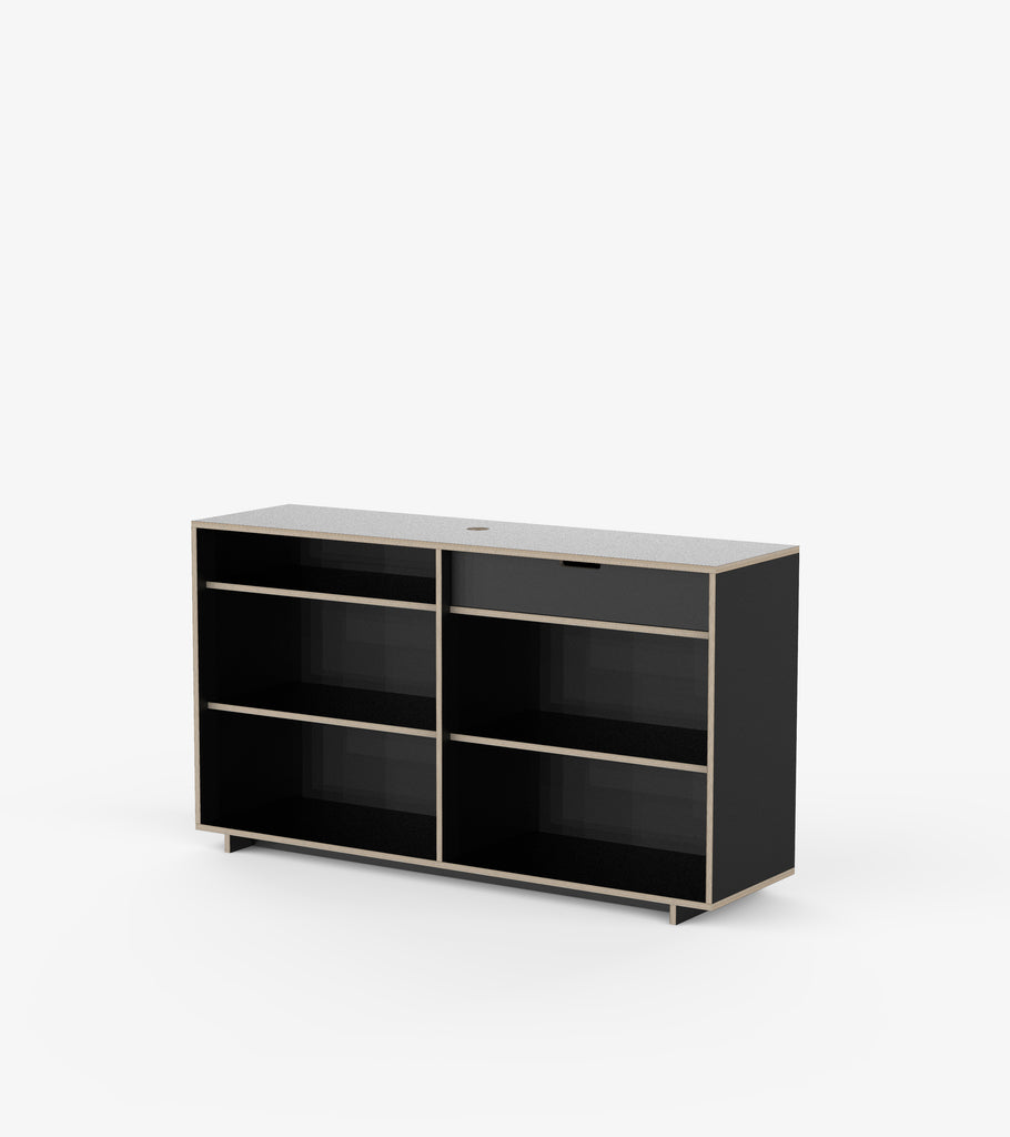Cash Desk - Black by FoundPop