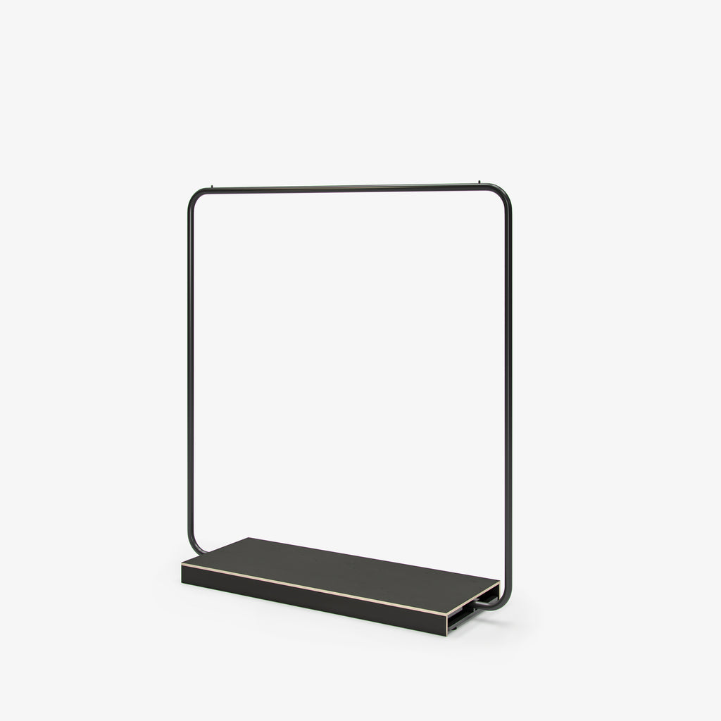 Hanging Rail with Base - Black by FoundPop