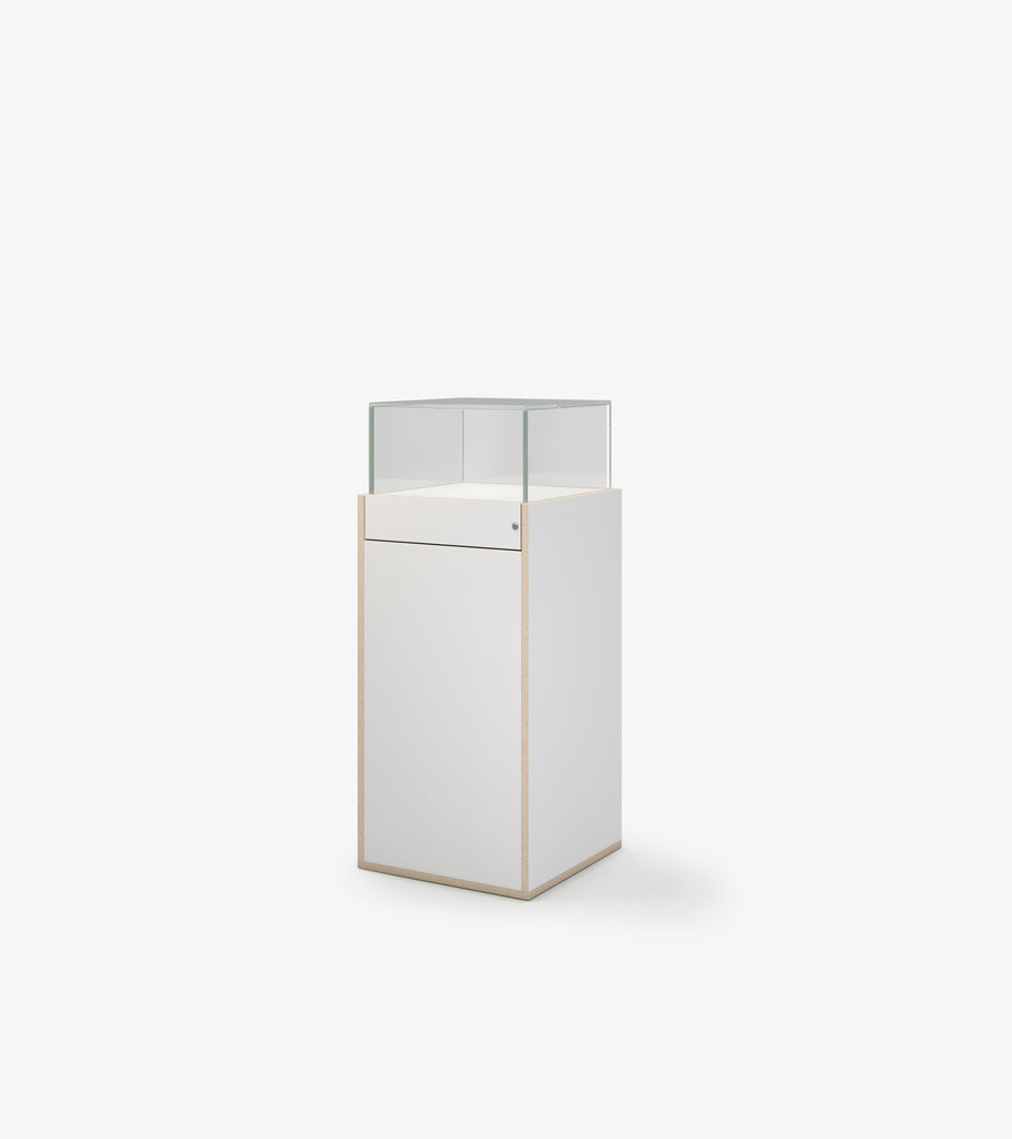 Display Case - White by FoundPop