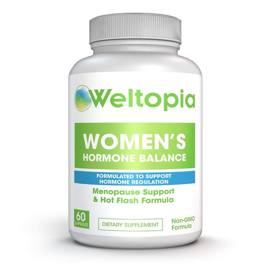 Women's Menopausal Support - Transitional Hormone Support During Menopause - Weltopia - Premium Vitamins and Supplements