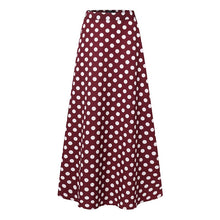 Polka Dot Maxi Skirt-The fashionabler