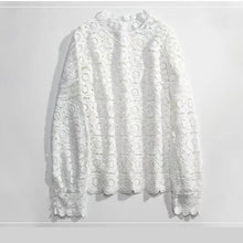 White Lace Top-The fashionabler