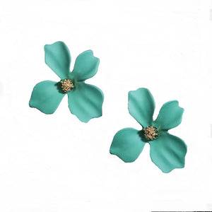 Flower Stud Earrings-The fashionabler