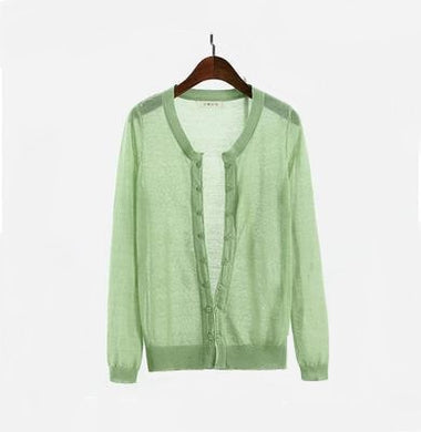 Linen Cardigan - Wide Size Range-The fashionabler