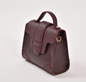 Leather Messenger Bag-The fashionabler
