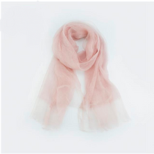 Linen & Silk Textured Scarf-The fashionabler