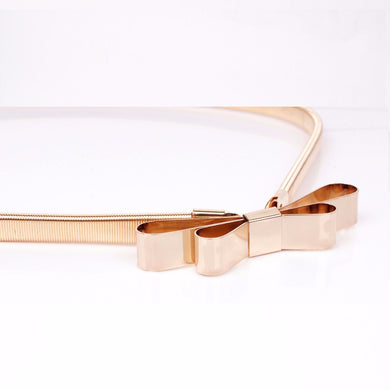 Slinky Metal Belt-The fashionabler