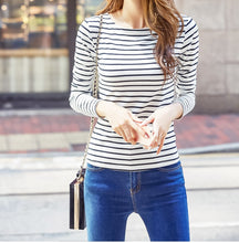 Striped T Shirt - Wide Size Range-The fashionabler