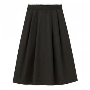 Lightweight Cotton Summer Skirt - Wide Size Range-The fashionabler