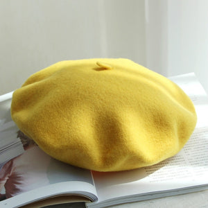 Wool Beret-The fashionabler