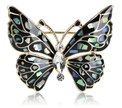 Butterfly Brooch-The fashionabler