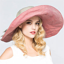 Reversible Wide Brim Summer Hat-The fashionabler