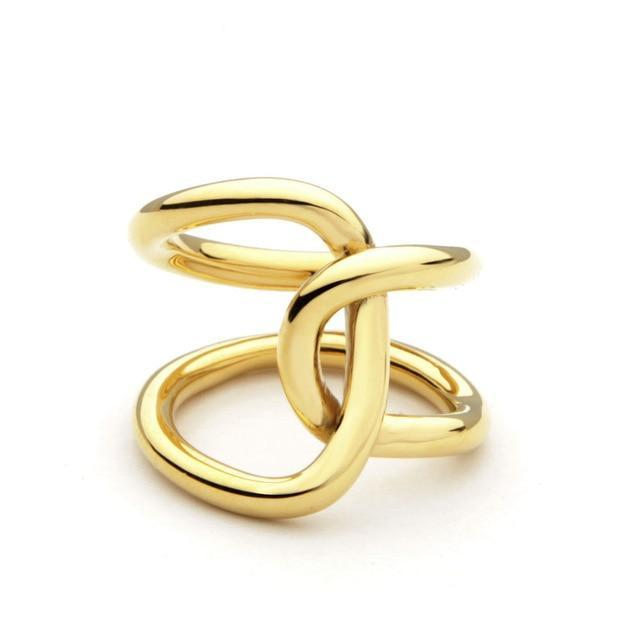 Linked Statement Ring-The fashionabler