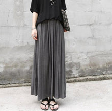 Lightweight Knit Maxi Skirt-The fashionabler