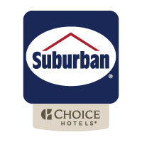 Suburban Extended Stay Logo - Sable Hotel Supply