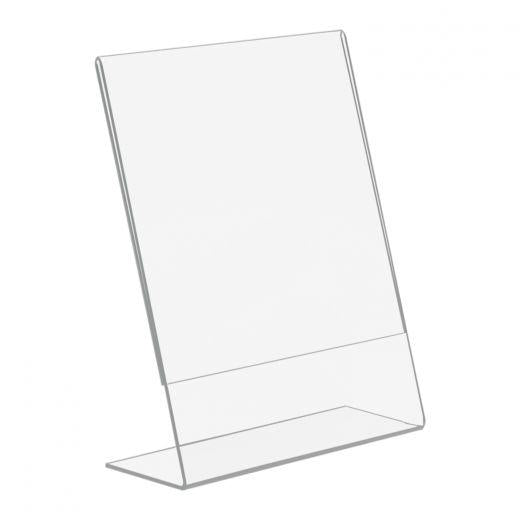 "Clear Acrylic Stand - 8 1/2"" x 11"" ""L"" Style"