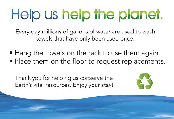 Save the Planet Cards - Towels