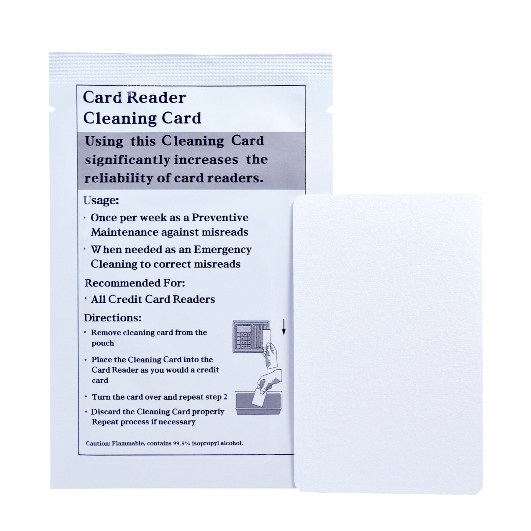 Lock Cleaning Card