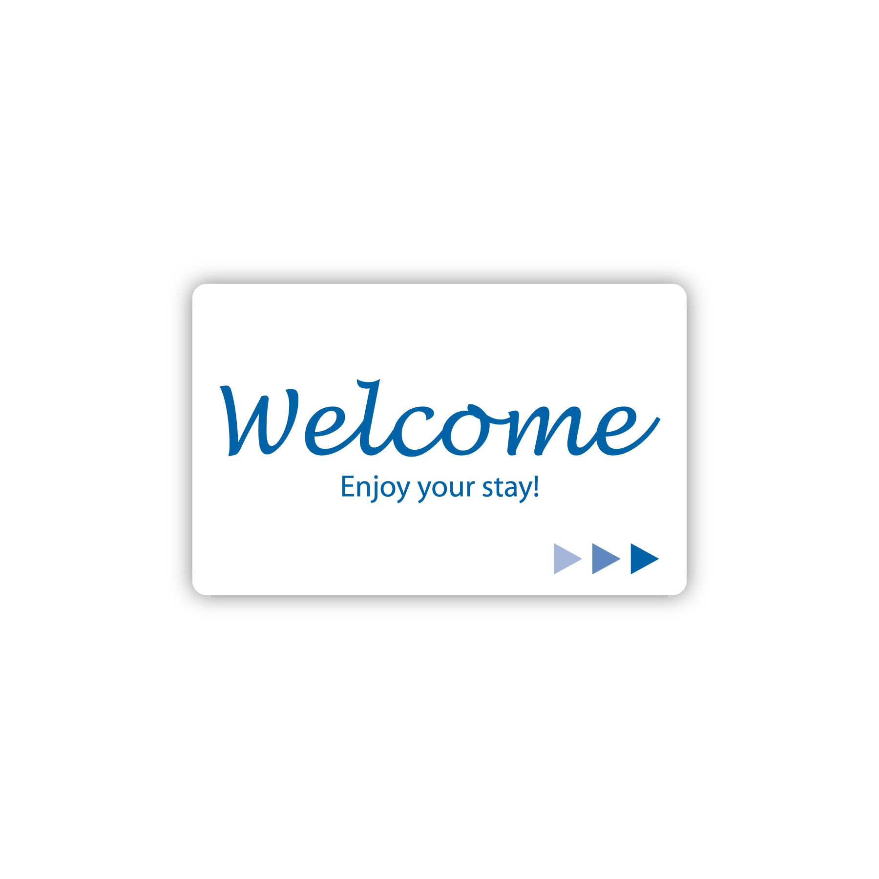 Key Cards - Welcome - Front - Mag Strip