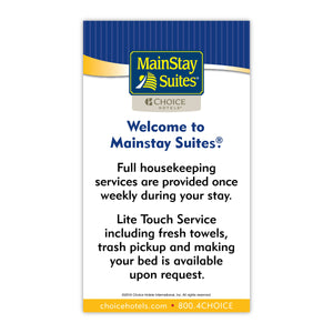 MainStay Suites Housekeeping Magnet