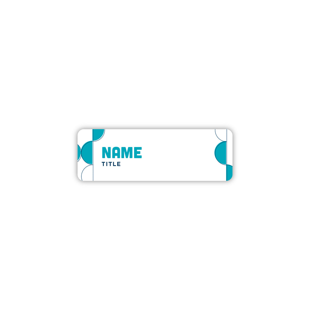"3"" x 1"" Name Badge - Clarion Pointe"