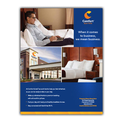 Sales Flyer - Comfort Suites