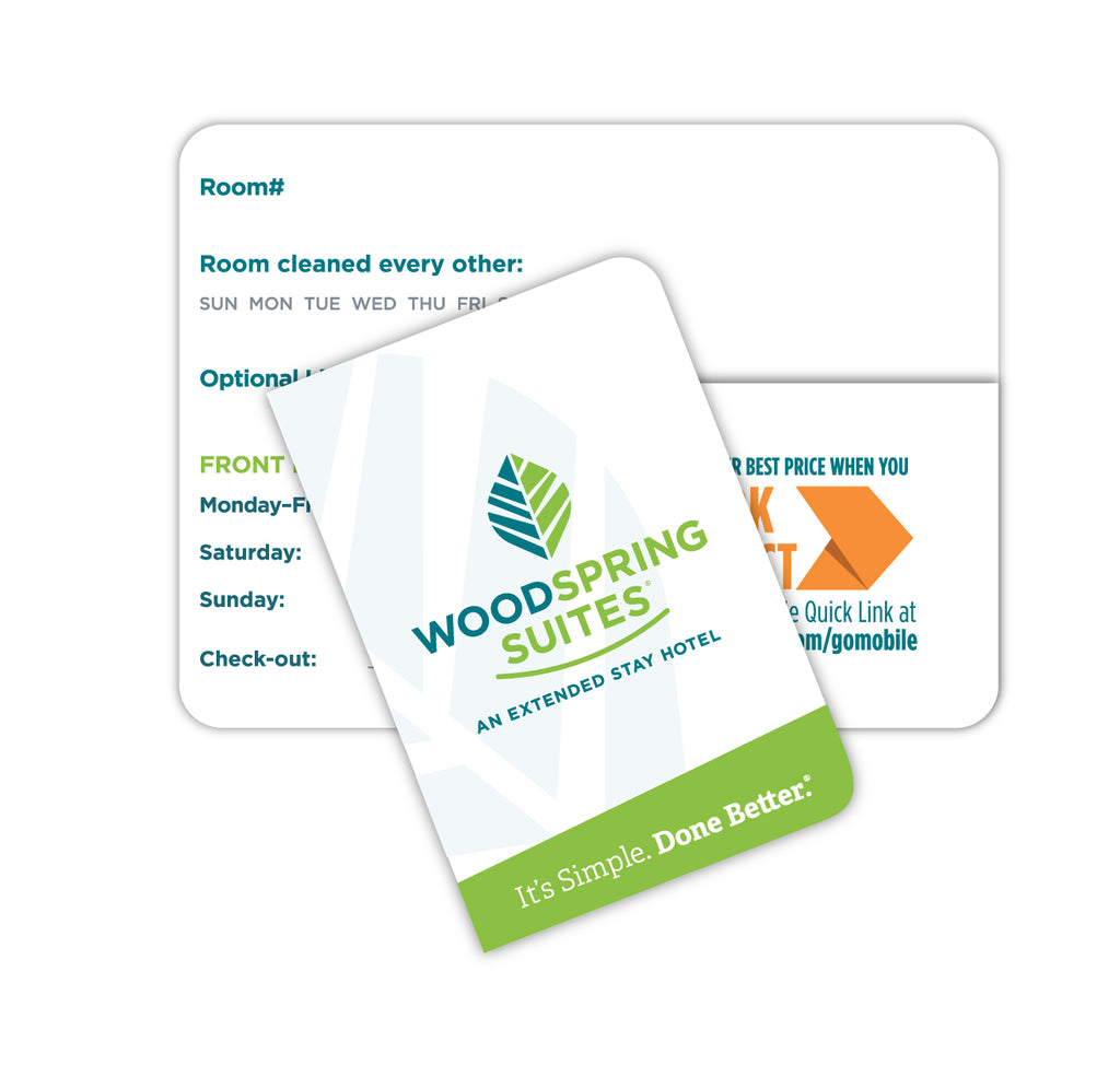 Key Folder - WoodSpring Suites