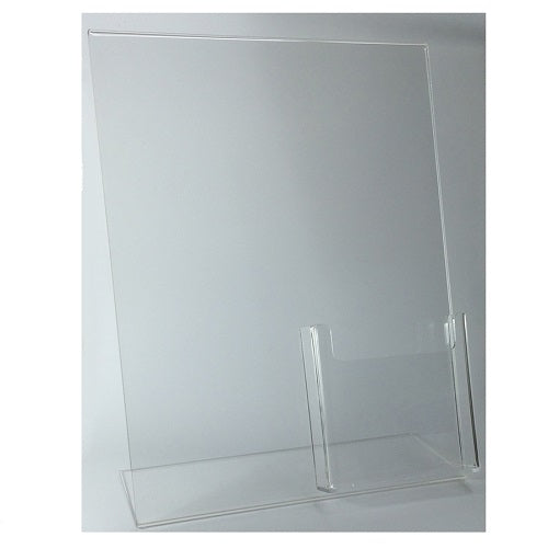Quality Acrylic L-Stand for Front Desk
