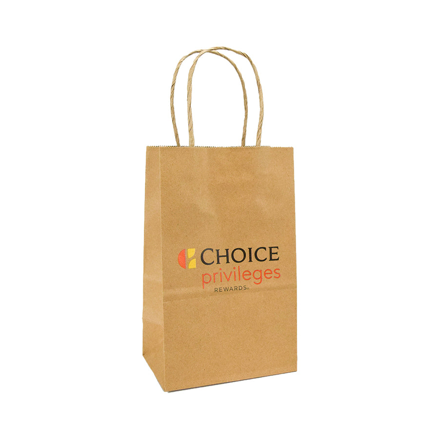 Choice Privileges Branded Kraft Gift Bag
